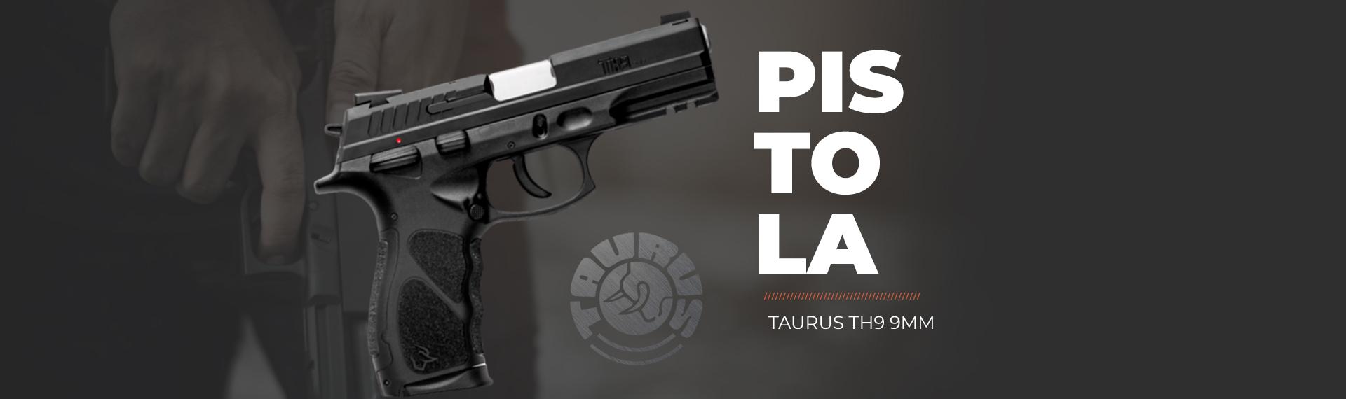 Pistola Taurus TH9 9mm