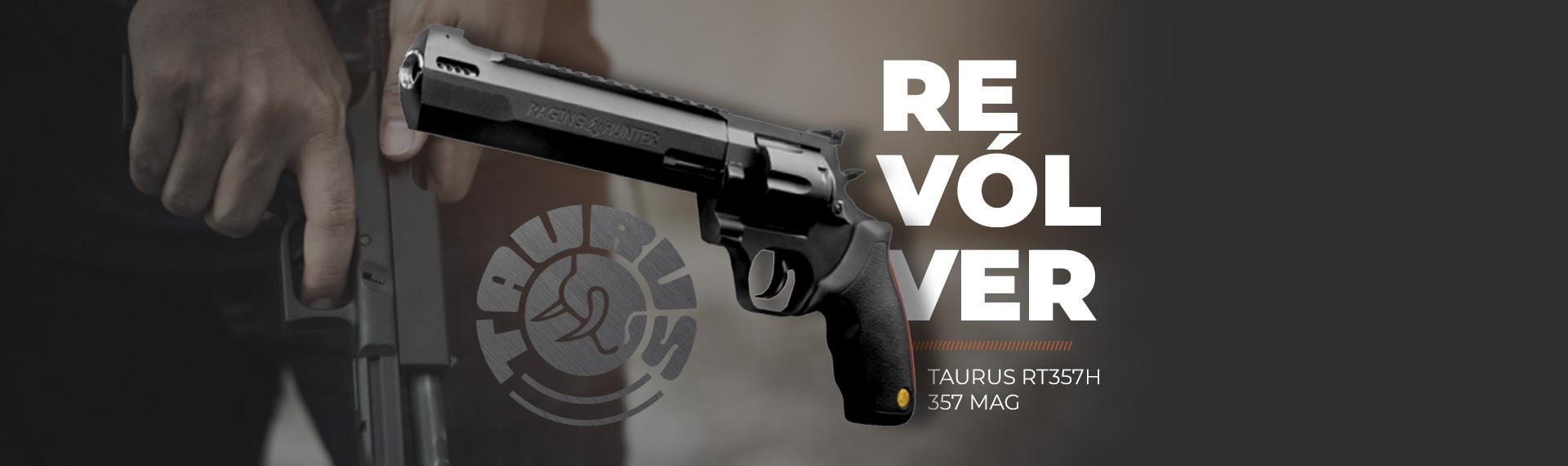 Revolver Taurus RT357H 357 MAG